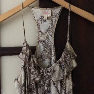 Parker silk dress size small